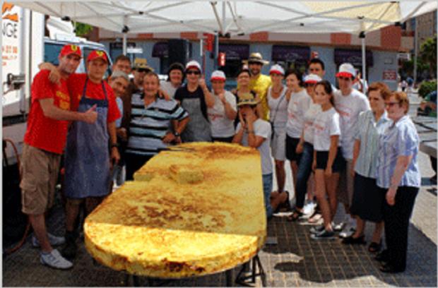 Alboraya. tortilla gigante