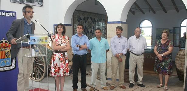 Almassera. Museo de l'Horta. Inauguración nuevos fondos