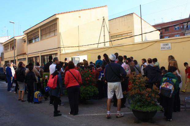 Los padres del San Juan de Ribera han realizado diversas protestas a lo largo del curso.