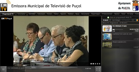 Puçol. Emisora Television Puçol