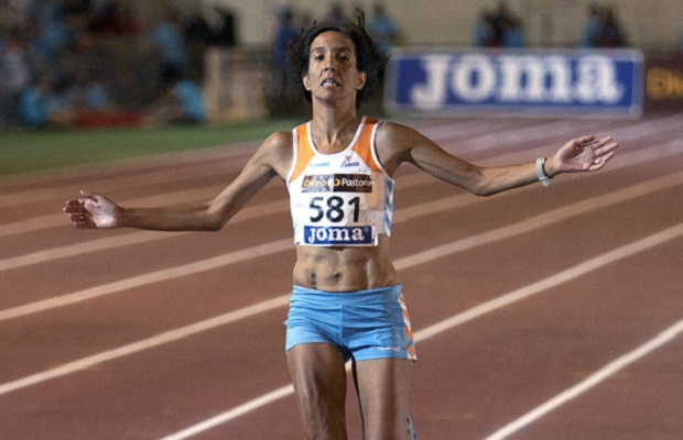 Silla. Dolores Checa. Campeona de España  2013. 5000 metros