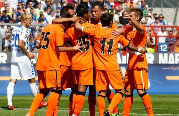 Valencia CF. Pretemporada 2013