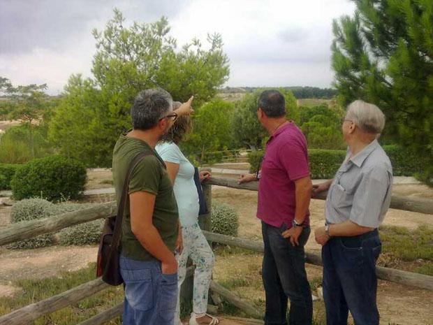 El diputado nacional Joan Baldoví ha visitado la zona donde se levantará la Zona Franca.
