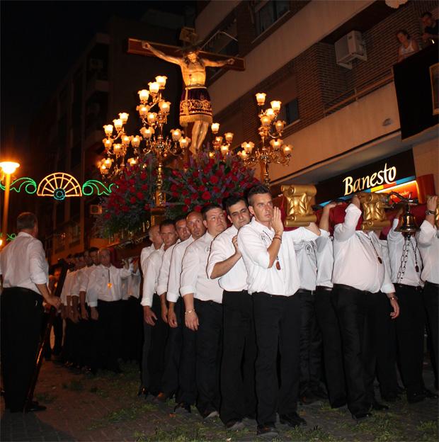 Aldaia procesión cristo