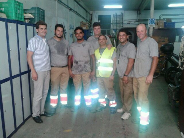 Alfafar 6 trabajadores