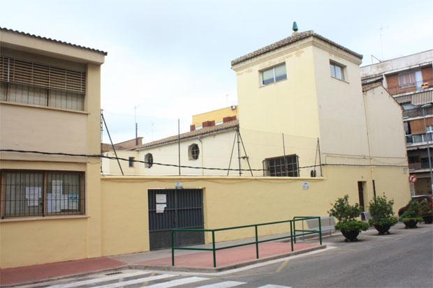El CEIP San Juan de la Ribera.