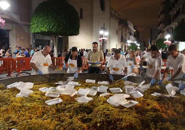 Mislata Fiestas Paella