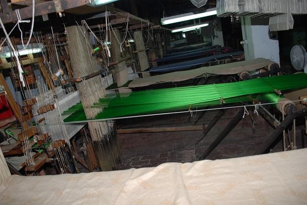 Moncada. Futuro Museo de la seda. Garin. Telar 1