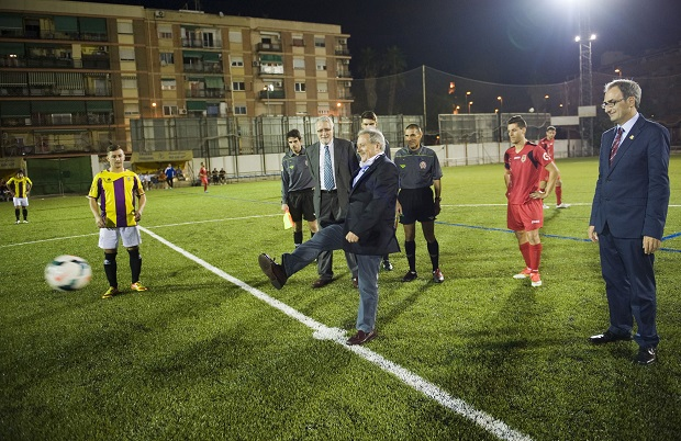 Burjassot. Rus y Sebastia. Inauguración campo de fútbol Burjassot