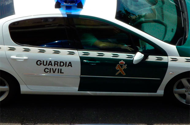 Guardia Civil. Vehiculo