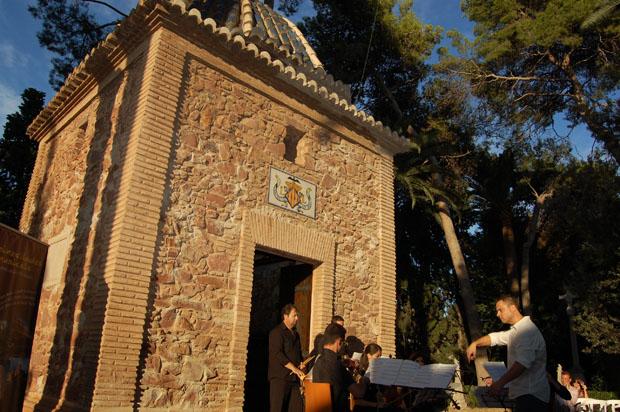 La beca de investigación recayó el año pasado en el proyecto 'Pinzellades musicals del Puig de Santa Maria'.