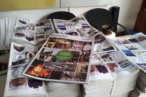 Hortanoticias cumple 2000 ediciones