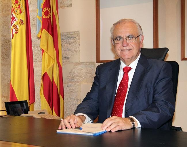 Juan Cotino. Presidente de las Corts Valencianes