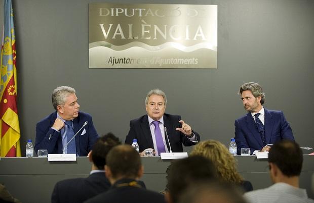 Rus,  Medina y Prieto. Presentación planes provinciales Inversión y Empleo