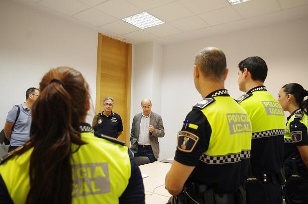 Xirivella. Policia Local