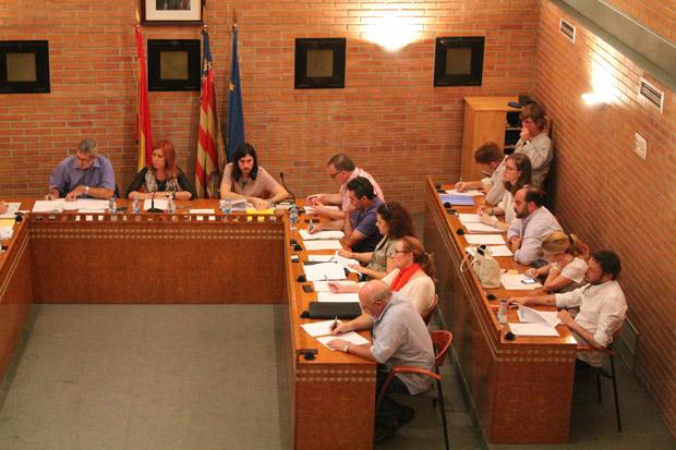 Pleno del Ayuntamiento de Aldaia (Foto de archivo).