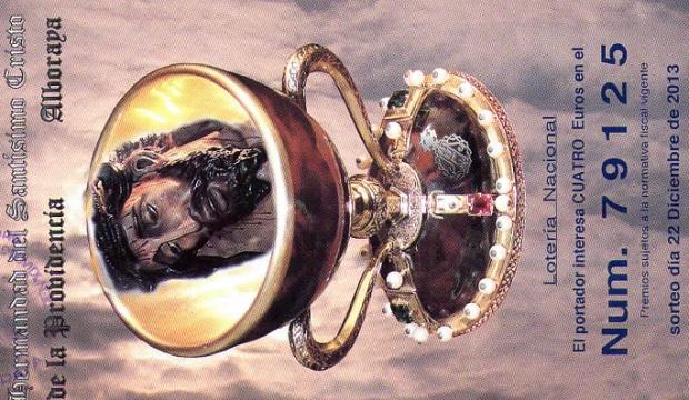 Alboraya. Hermandad del Santísimo Cristo de la Providencia. Lotería