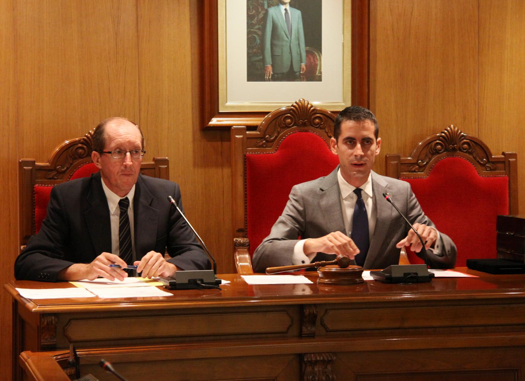 El alcalde de Mislata en una foto de archivo.