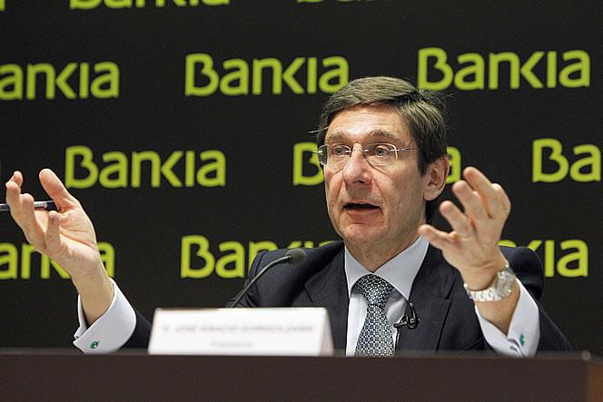 Bankia. Jose-Ignacio-Goirigolzarri--presidente-de-Bankia
