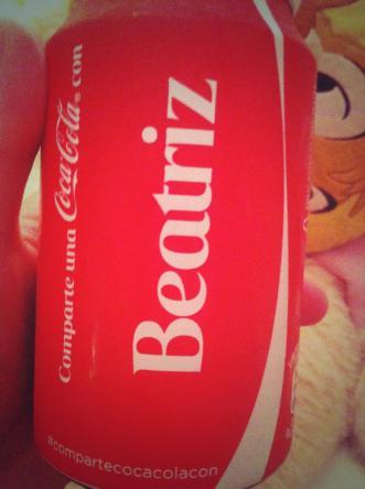 Coca cola. Beatriz