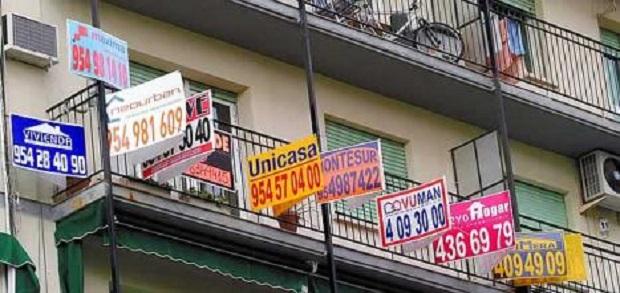 Miles-de-carteles-de-venta-de-pisos