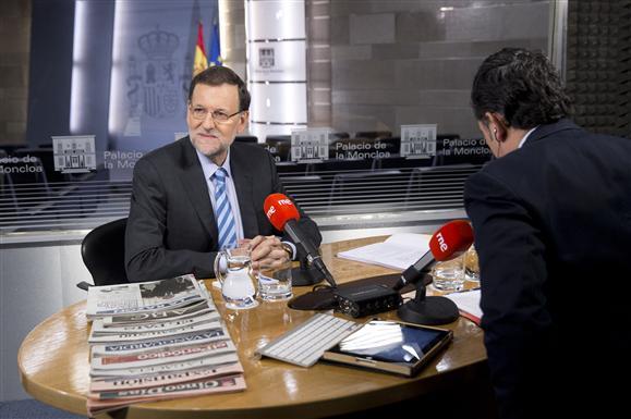 Rajoy. RNE