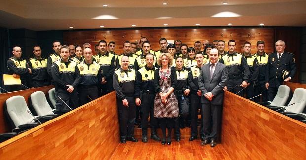 La plantilla de la Policía Local ha incorporado a 34 agentes recientemente.