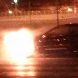 Aldaia. incendio vehículo