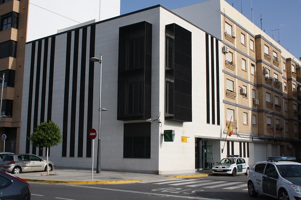 Alfafar. cuartel Guardia Civil. Ministerio del Interior