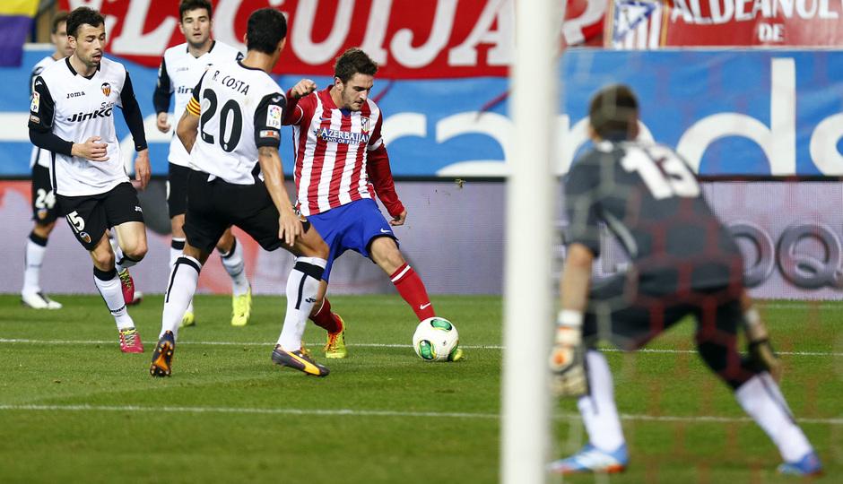 Valencia CF. Atlético de Madrid. Copa del Rey
