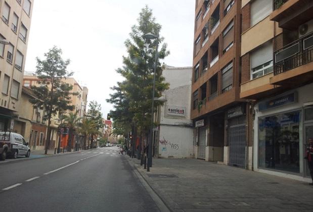 Catarroja. parada de autobús desaparecida