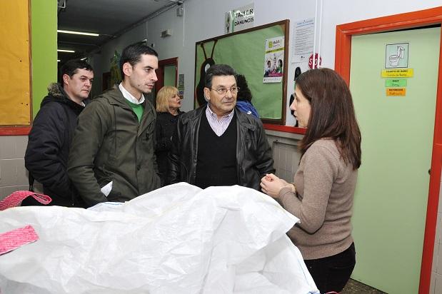 Mislata. Alcalde con la directora del Maestro Serrano