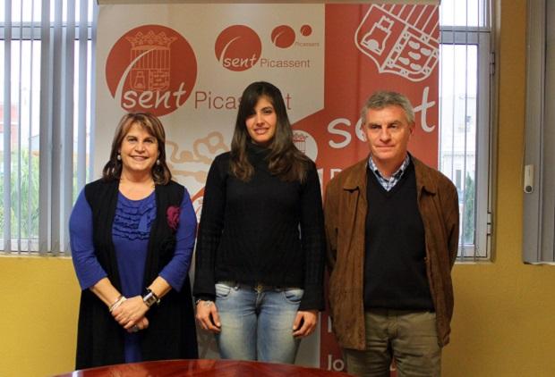 Picassent. Lorena Rojas,  alcaldessa i egidor d esports de Picassent. Yuyitsu