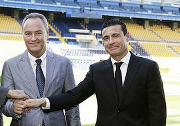 Valencia CF. Fabra. Amadeo Salvo