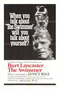 Burt Lancaster. The swimmer