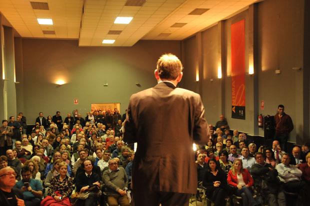 Ximo Puig en un acto reciente en Burjassot.
