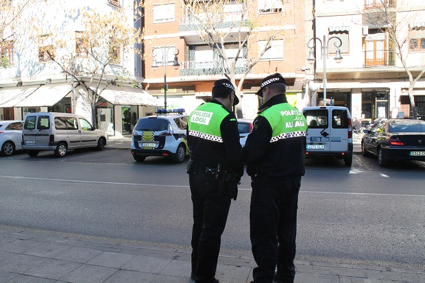 Aldaia. Policía Local. Policía Zonal