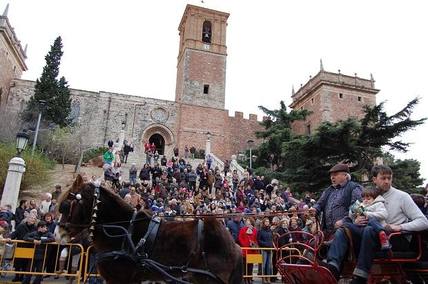 El Puig. Sant Antoni. bendicion de animales