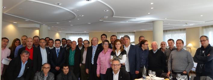 Huracan CF. Reunion Madrid equipos  2ª B