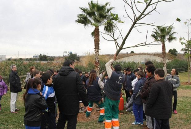 Paterna. Día del árbol 2014