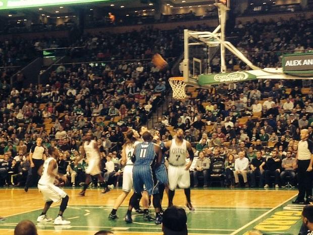 Un emprendedor valenciano en Boston. Boston Garden. Celtics