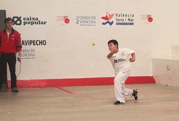 Massalfassar. Escola i corda. pilota valenciana