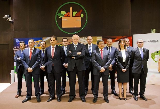Mercadona. Juan Roig. Equipo directivo Mercadona. Presentación resultados 2013