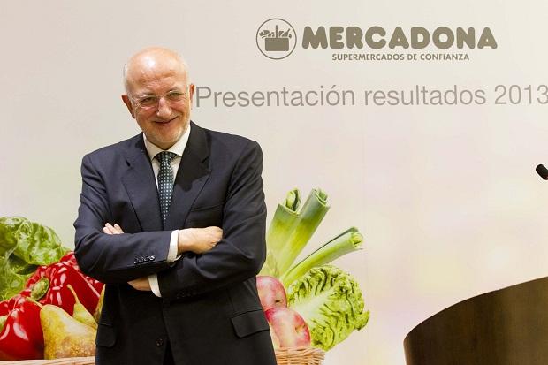 Mercadona. Juan Roig. Presentación resultados 2013