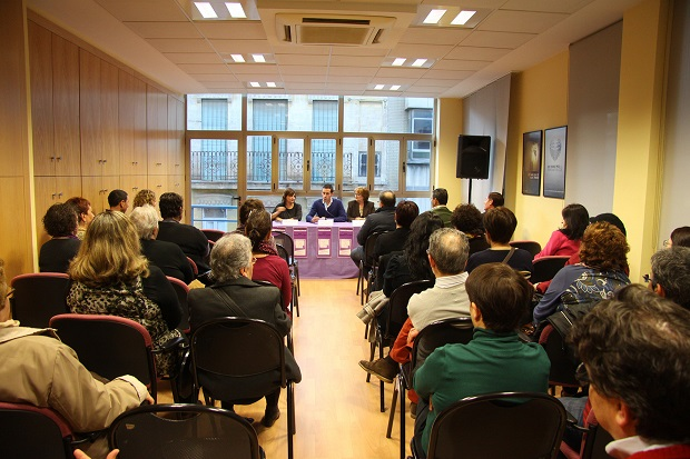 Mislata. Presentación libro Carmen Amoraga en Mislata. Premio Nadal 2014