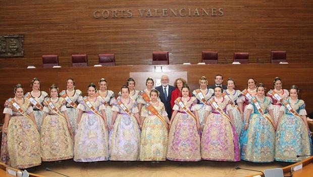 Torrent. Falleras Mayores 2014. Corts Valencianes