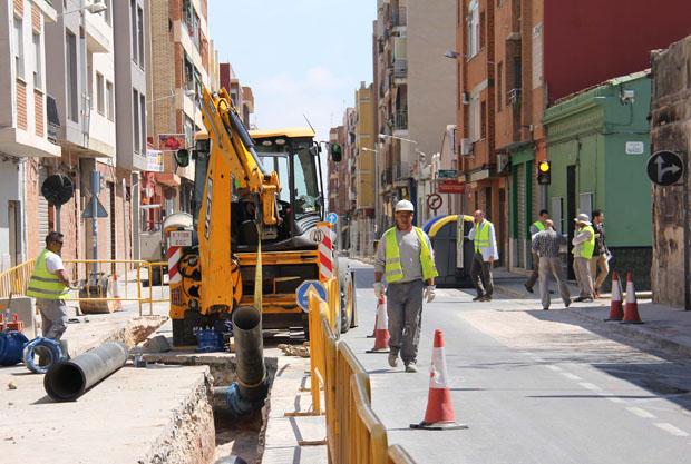 Comienza la segunda fase de las obras de remodelación de la calle ...