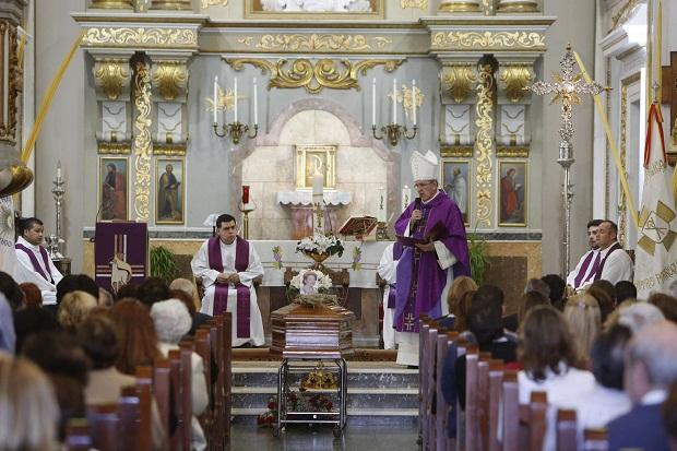 Alcasser. Misa feligresa fallecida en el viaje a Roma canonizacion Juan Pablo II y Juan XXIII