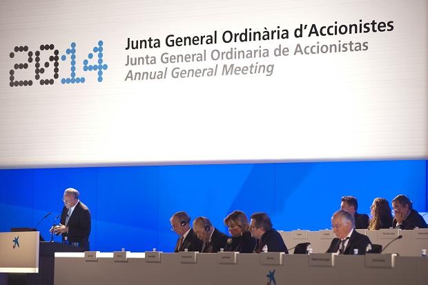 La Caixa. Junta General de accionistas