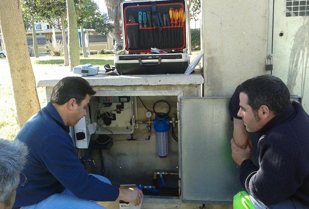 Picanya. Aigues de l'Horta. nuevos equipos detectores cloro en agua